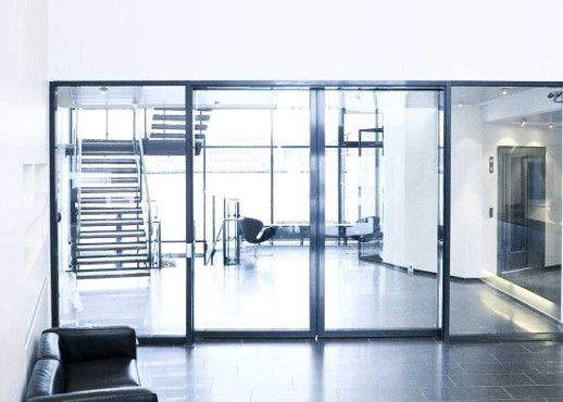 ALUMINIUM FIRE RATED GLASS DOOR IN KENYA