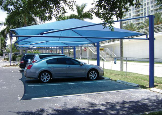 CAR SHADE INSTALLATION IN KENYA